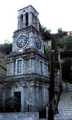 Clock Tower ~ Lagadia, Arcadia, Greece