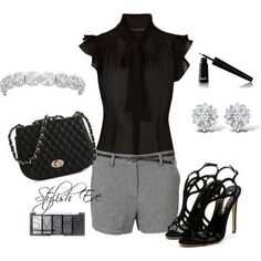 Spring photo  Summer 2013 Outfits with Shorts for Women by Stylish Eve