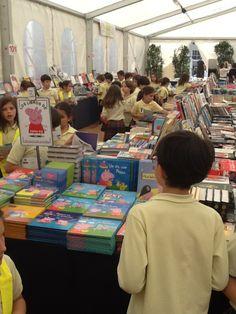 Feria del libro  Colegio San Cristobal