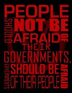 A great quote from V for Vendetta.