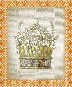 I uploaded new artwork to plout-gallery.artistwebsites.com! - 'Crown-8' - http://plout-gallery.artistwebsites.com/featured/crown-8-jean-plout.html via @fineartamerica