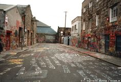 Windmill studio in Dublin is where U2 recorded their early albums. I want to write on the wall when we make it to Ireland. (Somewhere, Todd just rolled his eyes.) Graffiti is legal on this street.