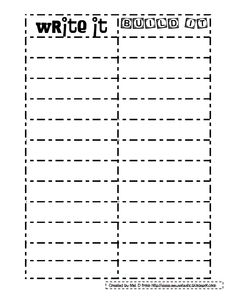 Use this rubric for writing combines cops sentence writing and write it build itpdf fandeluxe Images