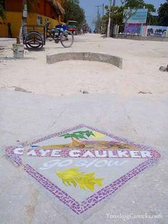 Caye Caulker Belize, the motto go slow Oh The Places You'll Go, Places To Travel, Places Ive Been, Beach Travel, Beach Trip, Central America, North America, Belize Islands, Caye Caulker Belize