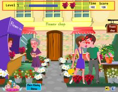 Flower Shop Kissing Games Kissing Games, Games For Girls, Flowers, Shop, Kids, Movies, Movie Posters, Art, Young Children