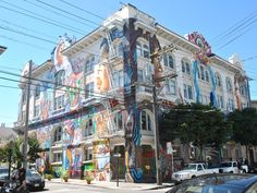Clarion Alley, Mission District, San Francisco The Mission District is a must on our May Getaway! Join us! http://globetrottergirls.com/getaways/