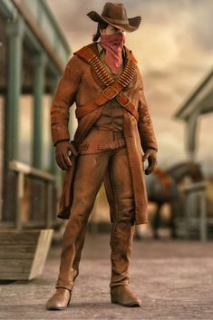 Western Outlaw for Genesis 2 Male(s) is a clothing, uniform/costume, western, historical for Genesis 2 Male for Daz Studio or Poser created by DAZ Originals and Yura. Western Wild, Genesis 2, Drawing Clothes, Old West, Westerns, Leather Pants, Studio, Drawings, Model