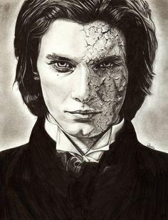 Tormenta de Libros: Fan art #4: Dorian Gray Oscar Wilde, Dorian Gray Painting, Dorian Gray Portrait, Dorian Grey, Horror Fiction, Penny Dreadful, Ben Barnes, Grey Art, Classic Literature