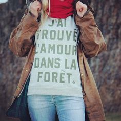 More than just fashion - our J'AI TROUVE Sweater made of #organic cotton 🌿🍁 #naturebasedstreetwear⠀ .⠀ .⠀ .⠀ .⠀ .⠀ #streetstyle #truewoods1713 #outfit #style #naturelove #travelgram #keepitwild #instadaily #ootd #photooftheday #fashionblogger #awesome #outfitters #nice #garments #sweater #love #vsco #lookbook #womenswear #streetwear #inspiration #wiesbaden #lookoftheday #sylw #german #brand #fashionblogger_de