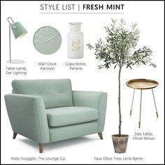 For beautiful Sofas and Chairs made in the UK visit The Lounge Co. Small House Living, Living Room Green, New Living Room, Living Room Sofa, Green Lounge, Green Sofa, Living Room Decor Lights, Glamour Living Room, Living Room Decor Inspiration