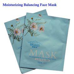 Hyaluronic Acid Facial Mask Sheet for Moisturizing Brightening and Whitening Skin Care Mask 30ml/ 1PCS