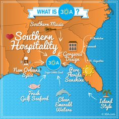 We love this 30A.com explanation of 30A. Each community on our Scenic Highway has its own special feel. Seaside Florida, Florida Vacation, Florida Travel, Florida Beaches, Florida Home, Panama City Beach, Beach Town, Beach House, Best Places To Vacation