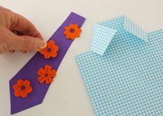 Maak voor Vaderdag deze  Overhemd kaart  #DIY #cadeau #knutselen