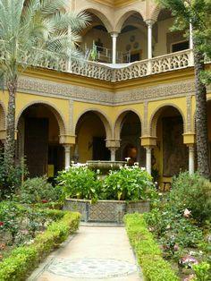 Sevilla. Palacio de Dueñas.