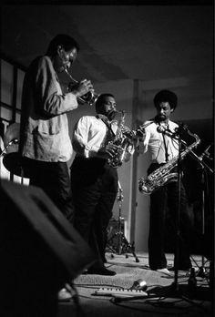 Don Cherry, Arthur Blythe, and Chico Freeman