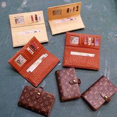 miniature Loius Vuitton purses https://www.instagram.com/mydollhouse74/