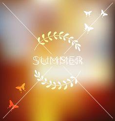 Unfocused summer background vector  - by Vodoleyka on VectorStock®