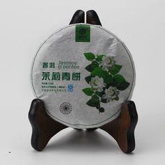 """Best detox slim tea yunnan jasmine scented raw pu erh tea, jasmine puer tea cake"""