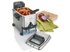 Emerilware Deep Fryer - cool #kitchen gadgets--I want this next! :D