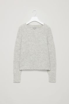 COS | Textured wool and mohair jumper