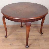 Okrągły stół rozkładany - Chippendale - Mebeltom.pl - Internetowy sklep: Antyki, meble stylowe