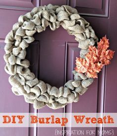 Burlap-Wreath-Tutorial- Mrs. Hines' Class