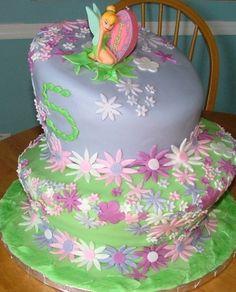 Tinkerbell Cupcake Cake | Tinkerbell Cakes | Birthday Cakes and Cupcakes Tinkerbell Cake ...