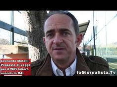 Wi Fi ed internet libera con ponti Rai Tv, intervista a Leonardo Metalli