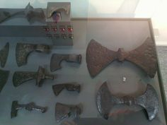 Private collection of Boyko Vatev (Plovdiv). Double-bitted axes from Bulgaria. All axes was dated in the 10th-16th centuries. The artifacts of the collection of Boyko Vatev will bе published in a printed catalogue with more accurate data. Archaeological Museum Plovdiv, Bulgaria.
