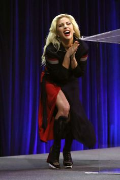 Lady Gaga at Superbowl Press Conference Sin City 2, Joanne Lady Gaga, Lady Gaga Pictures, A Star Is Born, Britney Spears, Role Models, My Idol, Demi Lovato, Actors & Actresses