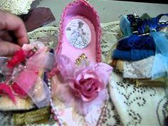 Marie Antoinette Paper Shoes