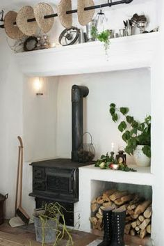 Cooking fireplace