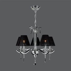 Worldwide Lighting W83133C25 Gatsby 5 Light Chandelier