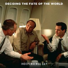 James Rebhorn Robert Loggia and Bill Pullman. Robert Loggia, Man In Black, Bill Pullman, Love Him, My Love, Number One, Will Smith, Independence Day, I Movie
