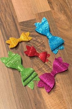 👸 Pretty up your princess' hair with our 🎀 FREE downloadable bow patterns 🎀, glitter foam, and a few other items available in-store. Bow Pattern, Free Pattern, Princess Hairstyles, Collar Designs, Glitter, Bows, Patterns, Store, Pretty