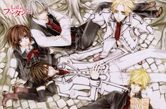 Image shared by Neptune. Find images and videos about anime, manga and vampire knight on We Heart It - the app to get lost in what you love. Manga Art, Manga Anime, Anime Art, Anime Boys, Matsuri Hino, Yuki Kuran, Zero Kiryu, Knight Art
