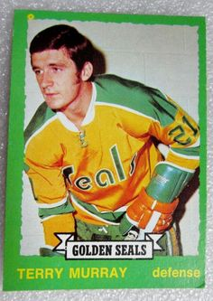 1973 - 74 OPC CALIFORNIA GOLDEN SEALS TERRY MURRAY ROOKIE CARD! N/M #RC.   Sports Mem, Cards & Fan Shop, Sports Trading Cards, Ice Hockey Cards   eBay!