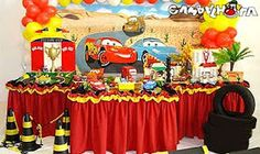 Art'Boom Festas: Festa Carros - Disney