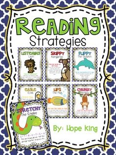 Free Reading Strategy Posters ~ Handy!