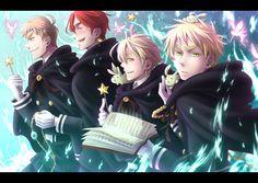 Magic British boys