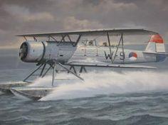 Fokker C XI W op het water