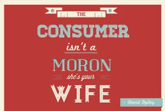 The Consumer...