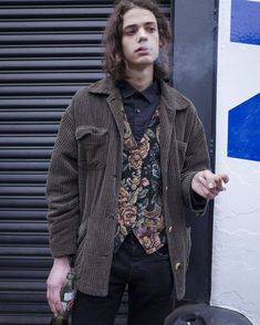 rue des mauvais garçons — Erin Mommsen at NYFWM F/W 2016 by Aaron Park Hipster Grunge, Grunge Goth, Street Fashion, Mens Fashion, Fashion Outfits, Fashion Hats, Erin Mommsen, Pretty Outfits, Cool Outfits