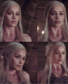 Emilia Clarke ✾ as Daenerys Targaryen Emilia Clarke Daenerys Targaryen, Game Of Throne Daenerys, Daenerys Targaryen Makeup, Game Of Thrones Khaleesi, Danarys Targaryen, Daenerys Targaryen Aesthetic, Game Of Thrones Merchandise, Lexa Y Clarke, Got Memes