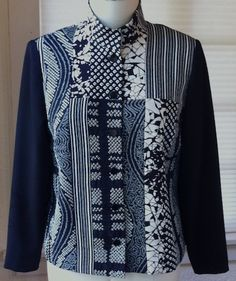 Another wonderful Ann Williamson pieced kimono silk jacket