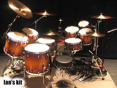 Ian Paice's drum kit