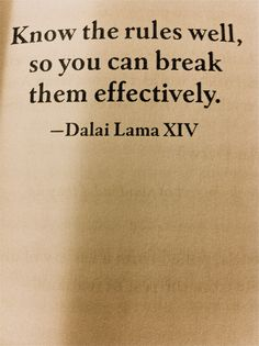 .. great advice