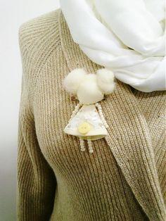 maramanufaktura / brošňa mini MARA /sweet baby/