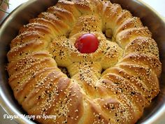 Easter Recipes, Dessert Recipes, Jam Tarts, Greek Easter, Cheese Pies, Tasty, Yummy Food, Food Tasting, Easter Treats