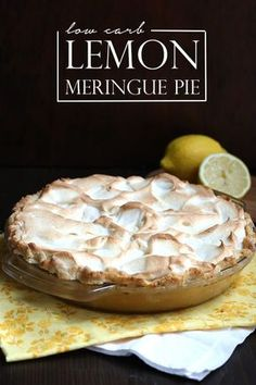 The beloved classic lemon meringue pie gets a low carb, grain-free makeover. The lemon filling is both tart and sweet, and the meringue is crisp on the outside, tender in the middle. I sincerely love making over the classics to be low carb and gluten-free. The funny part is that many of these classic dishes and desserts are not things I would have bothered with back in my sugar and flour days. Some of them I simply wasn't interested in and some of them were just a little too daunting. Fo...